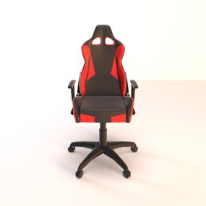 gaming chair seat 3D model