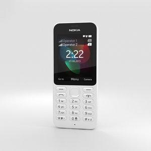 nokia 222 white model