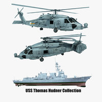 2 uss thomas hudner model