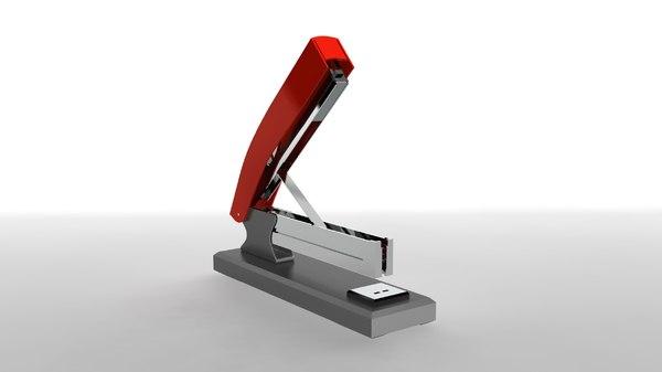 3D stapler staple model