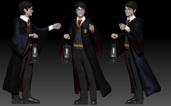 harry potter printing 3D model