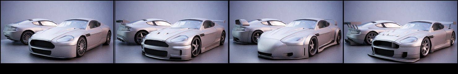 11 cars tuning 3D