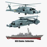3D 2 uss chafee model