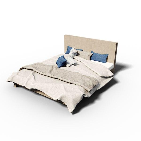 3D bed vizz crew model