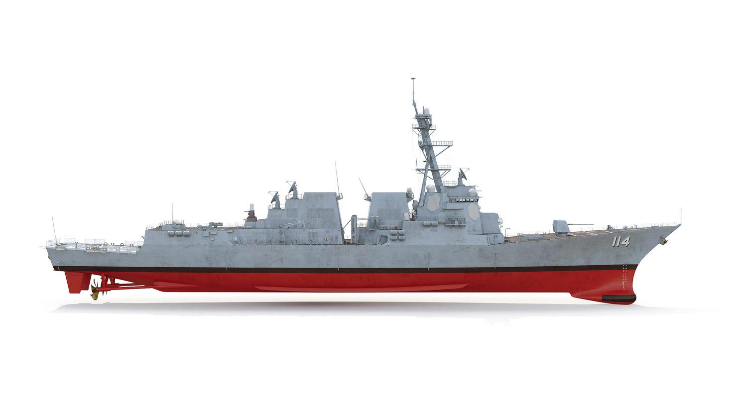 2 uss ralph 3D model