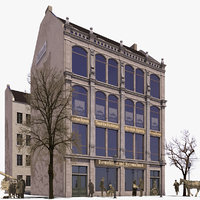 Historic Commercial and Apartment House Koenigstrasse 21 (Exterior only)