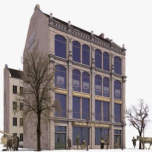 building koenigstrasse 21 historical 3D model