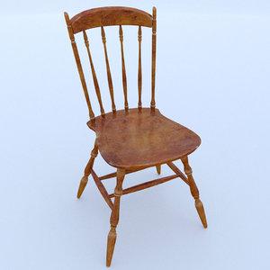 classic chair 1 3D