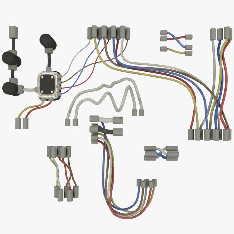 3D wires set