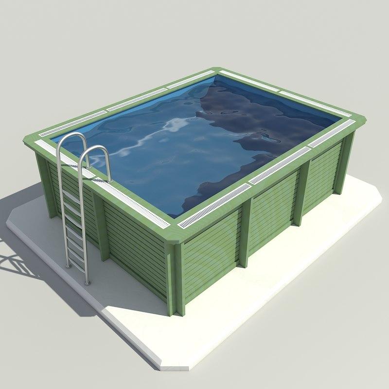 gardens pool 3D model