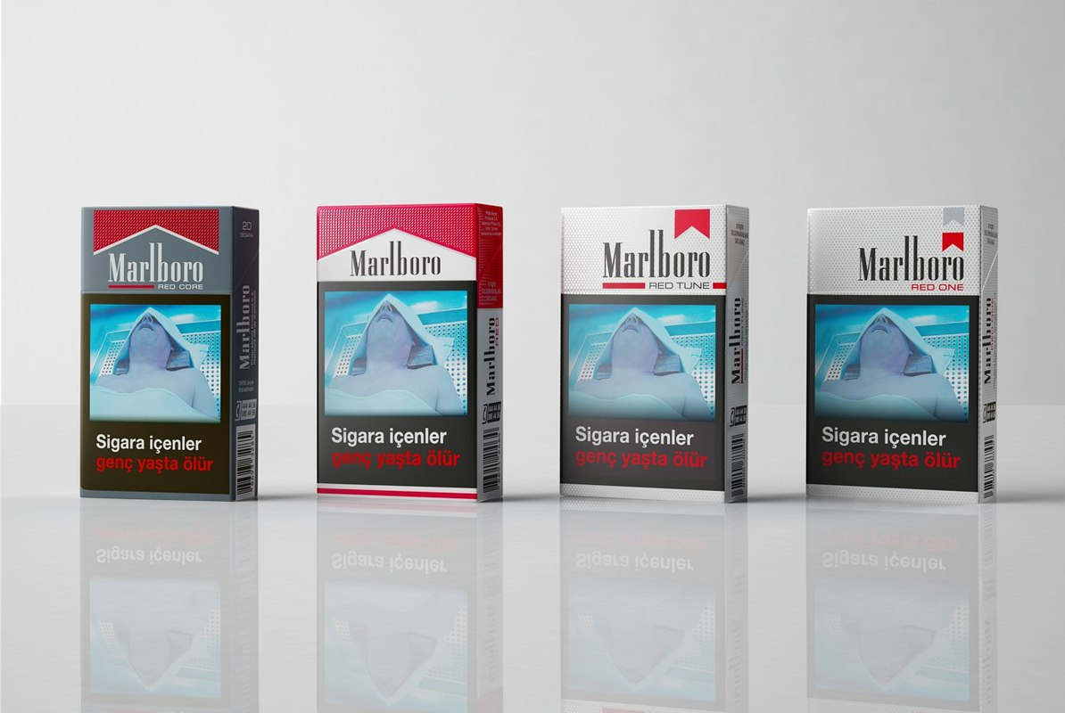 marlboro product 3D model