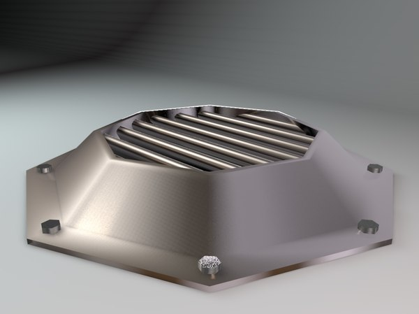 3D vent spaceships factories