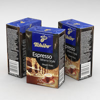 3D espresso coffe model