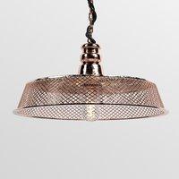 3D model copper lamp