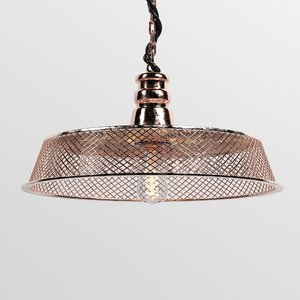 3D model copper lamp