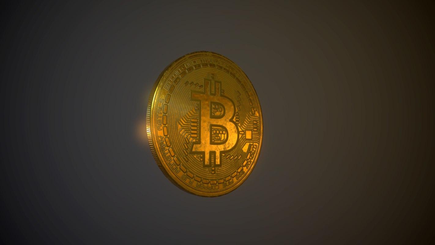 3D bitcoin digital money