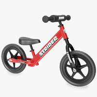 Kids Balance Bike Red