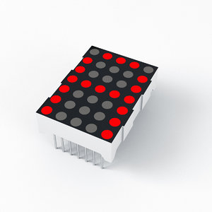 led dot matrix display model