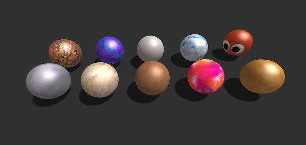 3D ball pack