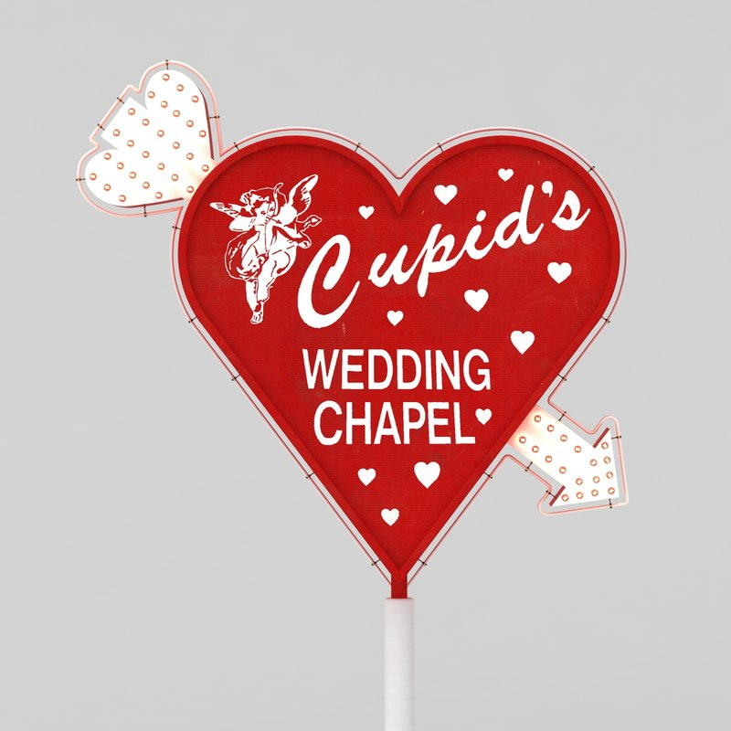 cupid wedding 3D