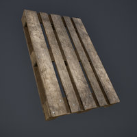 pallets unreal engine 3D model