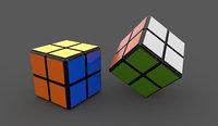 3D 2x2 cube model