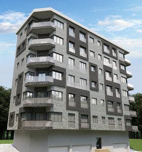 3D photorealistic building model