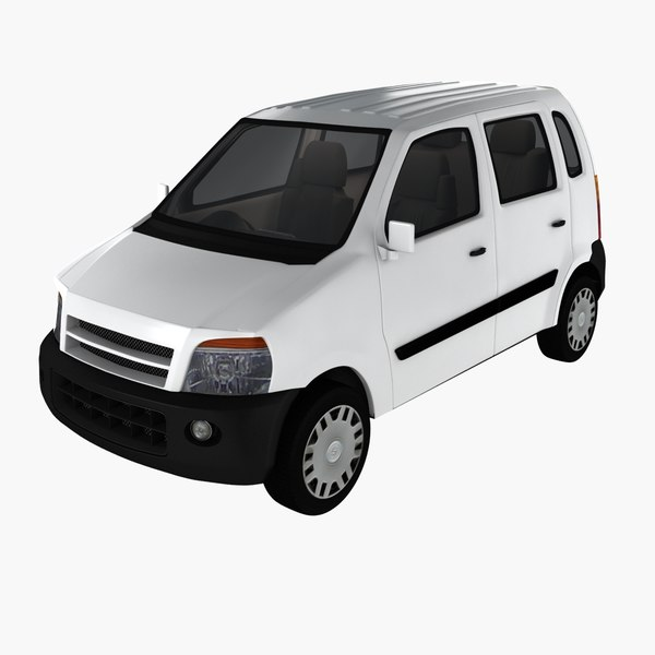 hatchback car 3D model