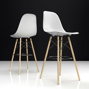 eames dsw bar plastic chairs model