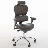 c s groupe office chair 3D model