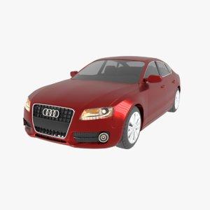 a5 2009 sportback 3D