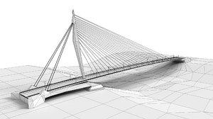 3D pylon bridge