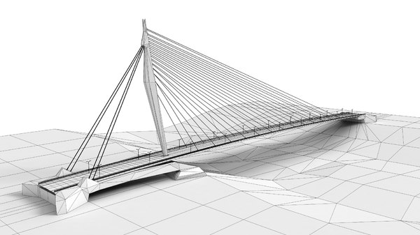 3D pylon bridge