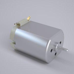 micro motor mabuchi 280 3D model