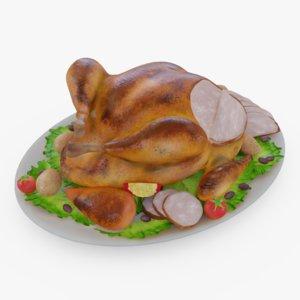 turkey thanksgiving model