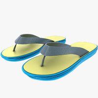 3D flip-flops model