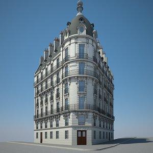 3D urban building model