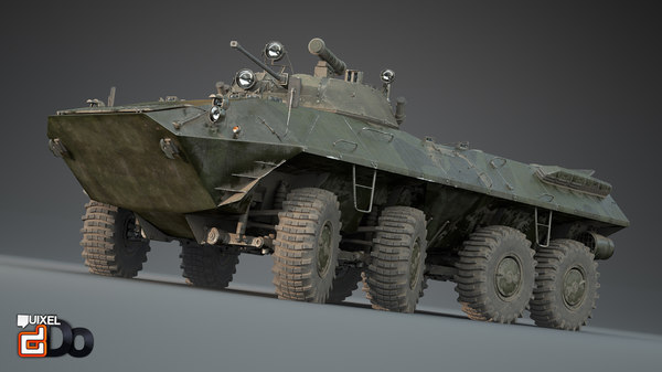 Armored Personnel Carrier 3D Models for Download | TurboSquid