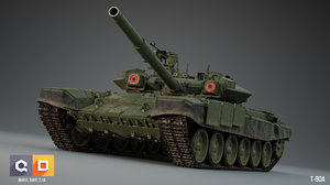 3D t-90s russian tanks -
