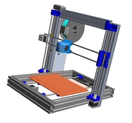 printer design 3D model