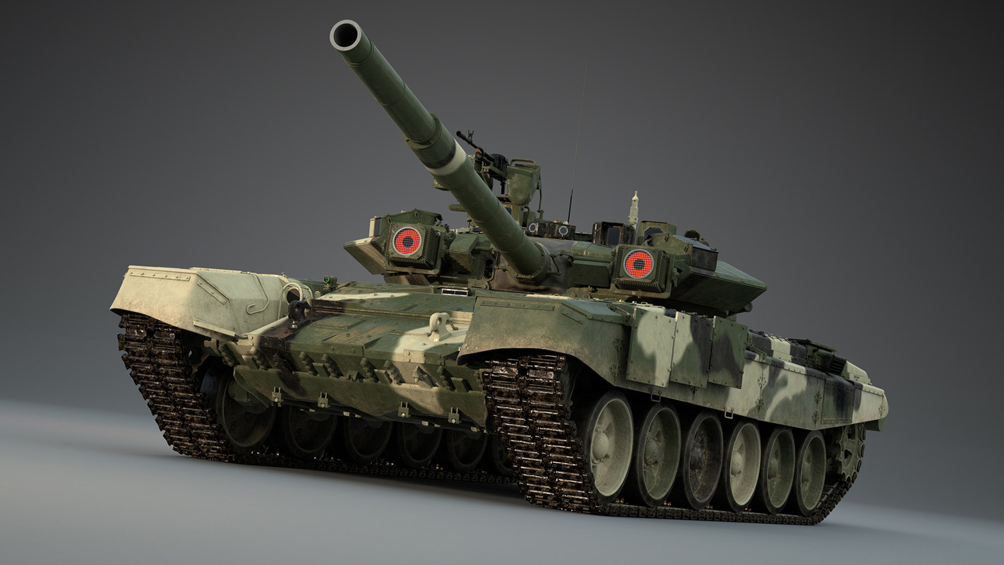 3D t90s russian tanks model