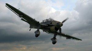 3D model oleg ju-87 dive bomber
