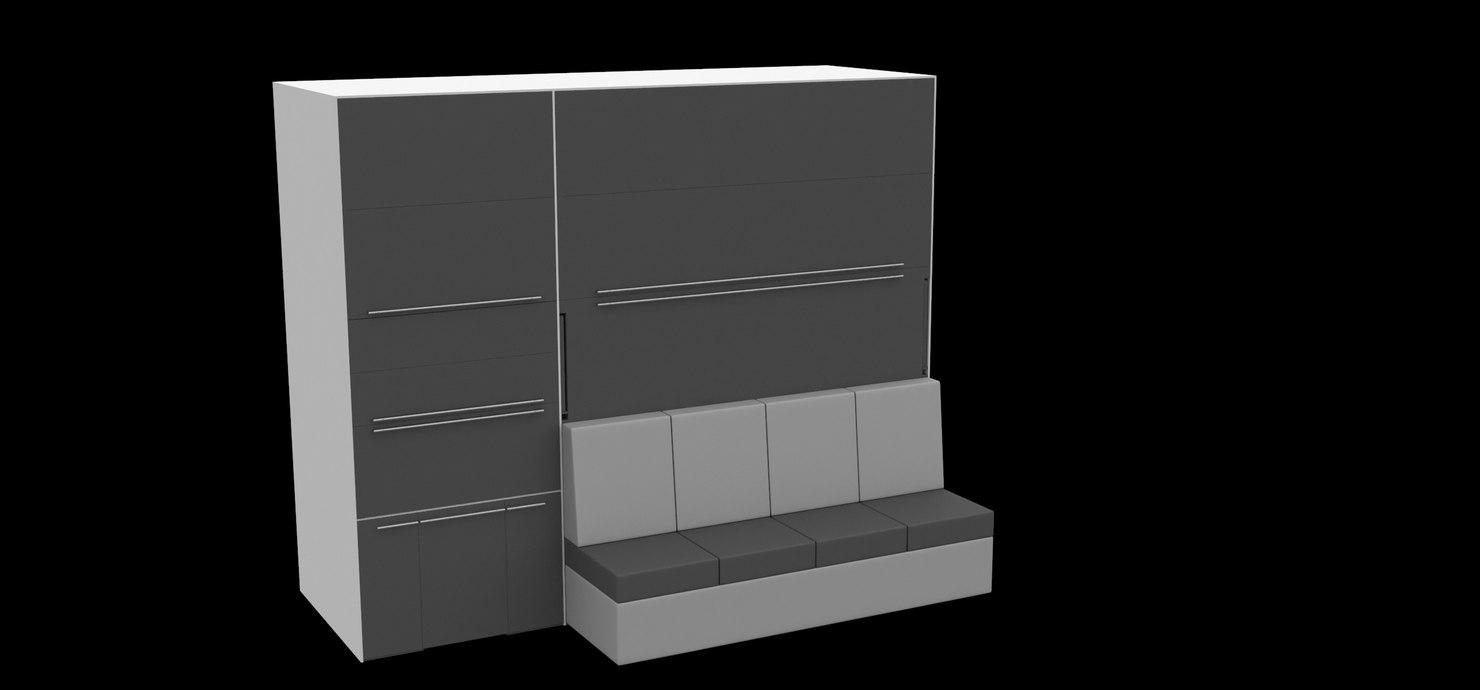 closet 3D model