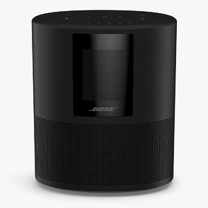 3D bose home speaker model