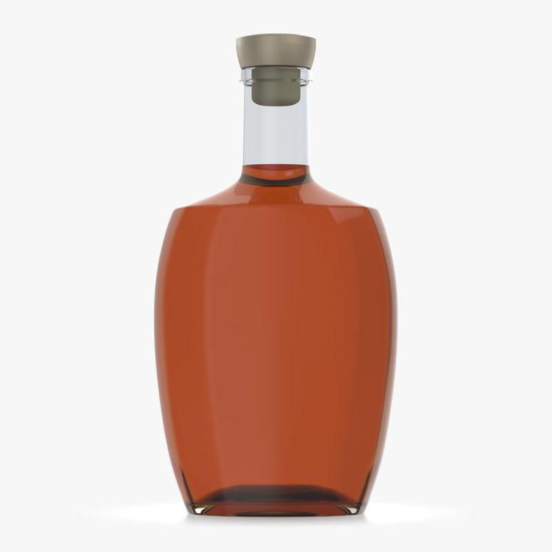 bottle glass 3D model