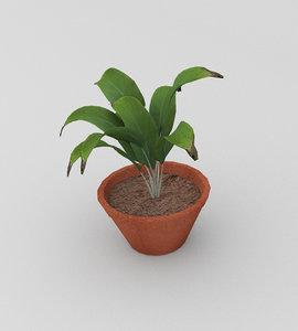 tree pot 3D model