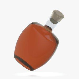 3D bottle glass