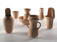 gardenias vases model