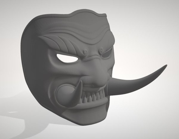 mask honor 3D model