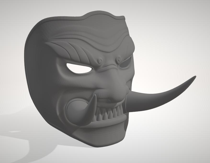 mask honor 3D model